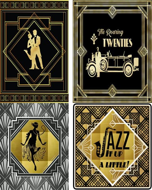 Décor For Your Great Gatsby Fundraiser