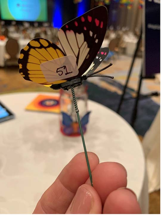 Butterfly Gift Card Pull Fundraiser