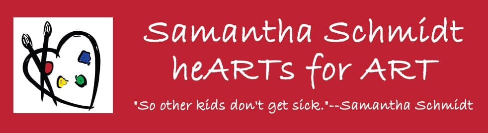 Samantha Schmidt's heARTs for ART